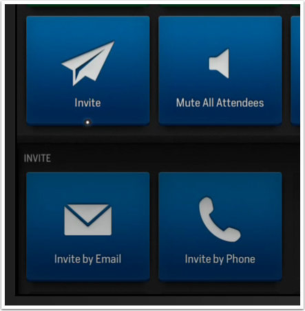 Actions - Fuze Meeting - Invite
