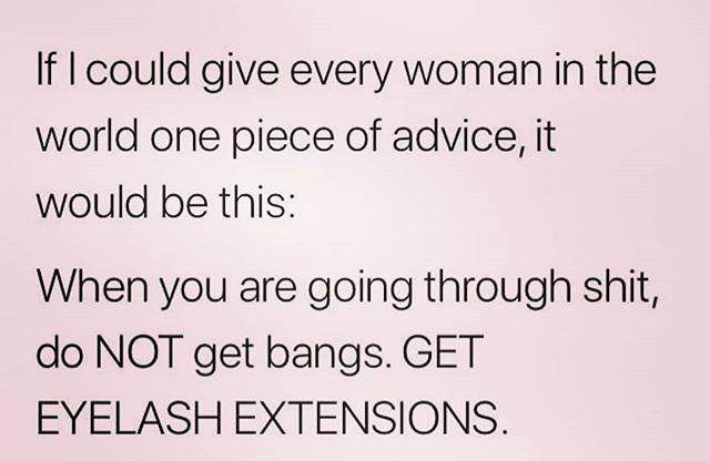 Truth  #lashhumor #eyelashextensions #cincinnati #cincinnatieyelashextensions #cincinnatilashes #cincinnatilashartist #lashartist #lashtraining #daytonlashes