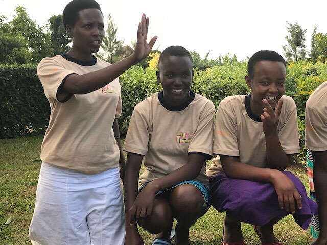 Our girls at this years Girls Leadership retreat in Kayonza, #Rwanda  #Timesup #Empowergirls #Confidence #Thankstoher #Rwanda #Rwandan #Rwandalicious #Africa #African #Partnersinhealth
