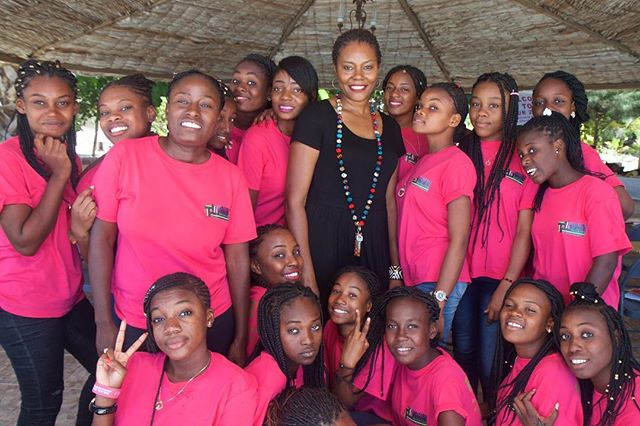 Pictured here is Didi Bertrand Farmer at last years Leadership camp in Haiti, surrounded by the girls and young women from the #WGI program.  Didi is a medical anthropologist, community health specialist, activist and philanthropist.  Didi is also the founder of @womenandgirlsinitiative which is a global female leadership movement committed to social justice, active in Rwanda and Haiti. The organisation has two primary goals: 1) Help girls go to school and stay in school and 2) Help young mothers become financially independent through skill building and knowledge advancement.  _____________  #InternationalWomensDay #InternationalWomensDay2019 #WomensDay #IWD2019 #BalanceforBetter #SheInspiresMe #Sheroes #WomenAndGirlsRock #BlackGirlsRock #EmpowerWomen #Rwanda #MentalHealth #Wellness #Africa #African  #WomenAndGirlsInitiative