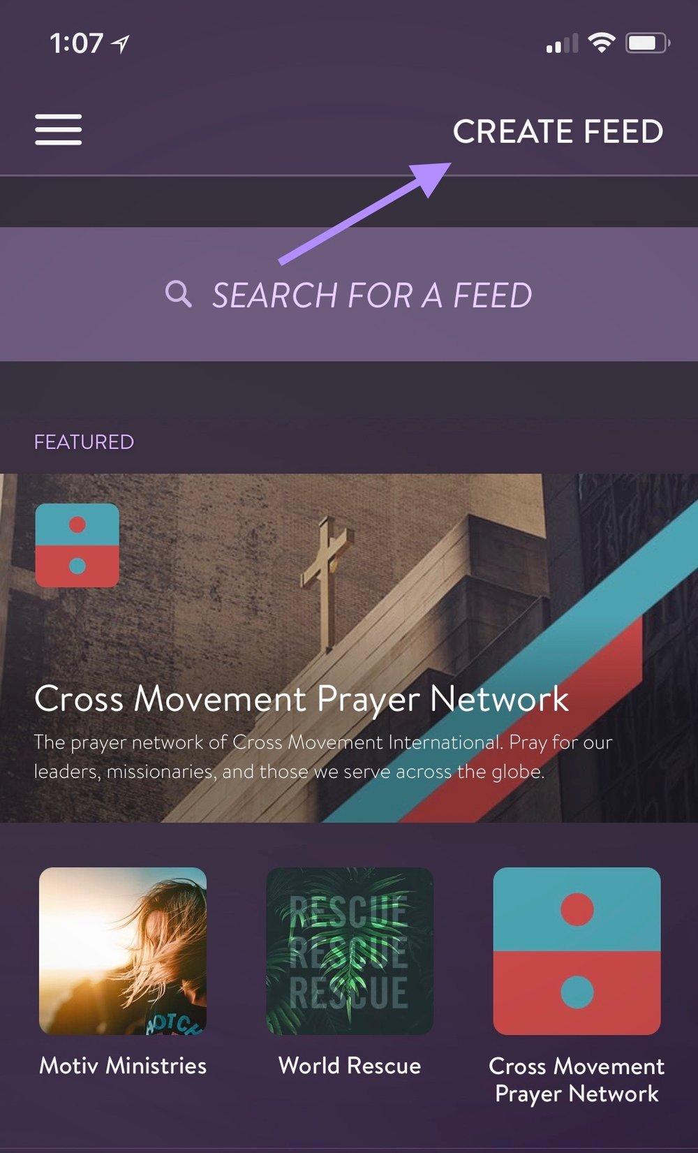 create a feed.jpg