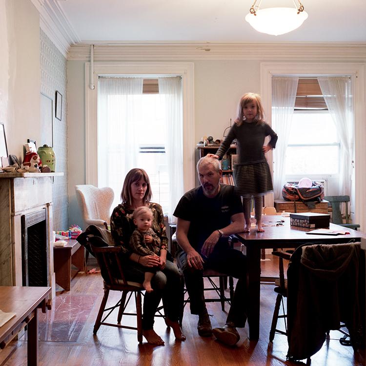 Anne McGroarty, Sean, Lulu + Freya O'Tyson, Brooklyn, New York