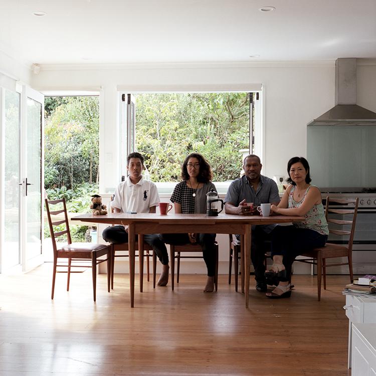 Jonas, Minh, Leon, Shanti + (Anya), Auckland, New Zealand