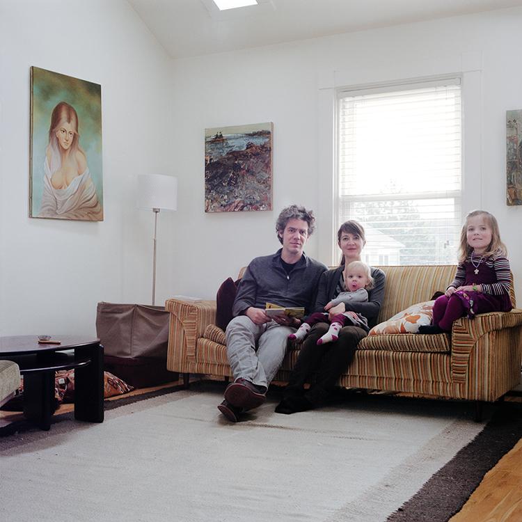 Katie Fitch, Joe, Winona + Delila Wardwell, Jamaica Plain, Massachusetts