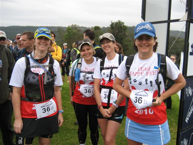 Wild Endurance 100km Team Relay 2010, 1st Female Team