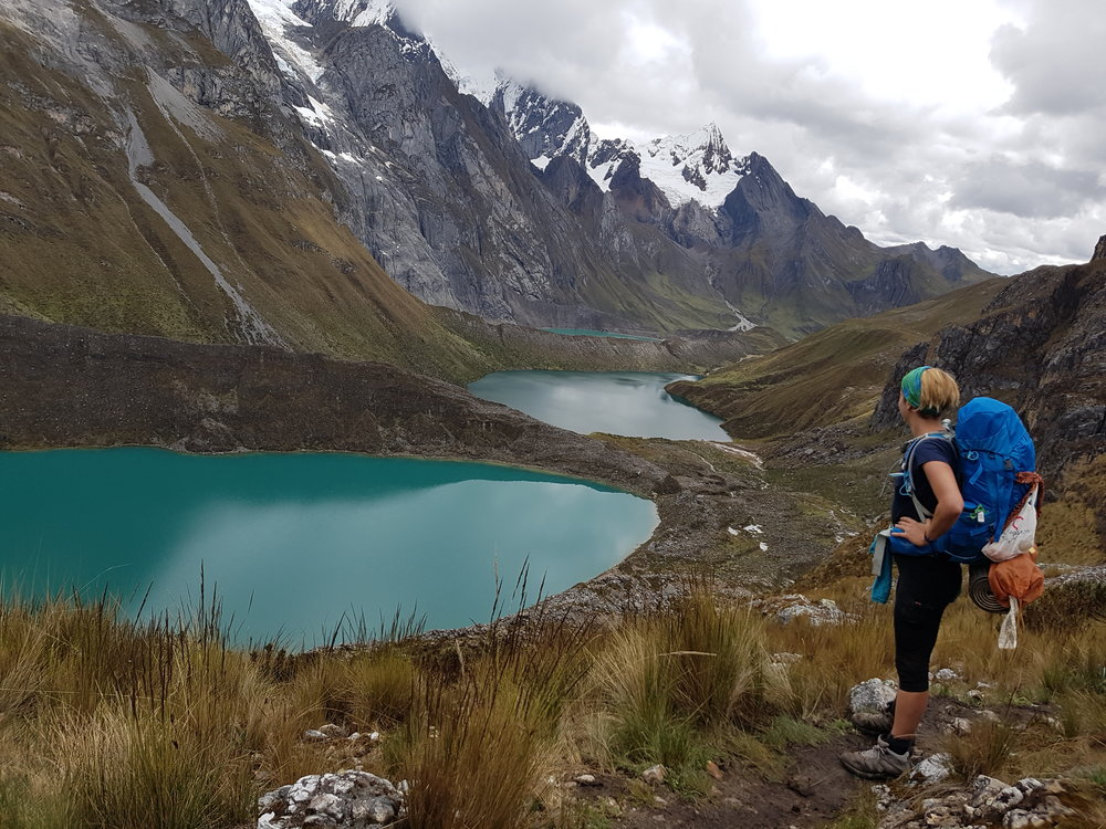 Solo trek in the Huayhuash, Andes Mountains North Peru 2017
