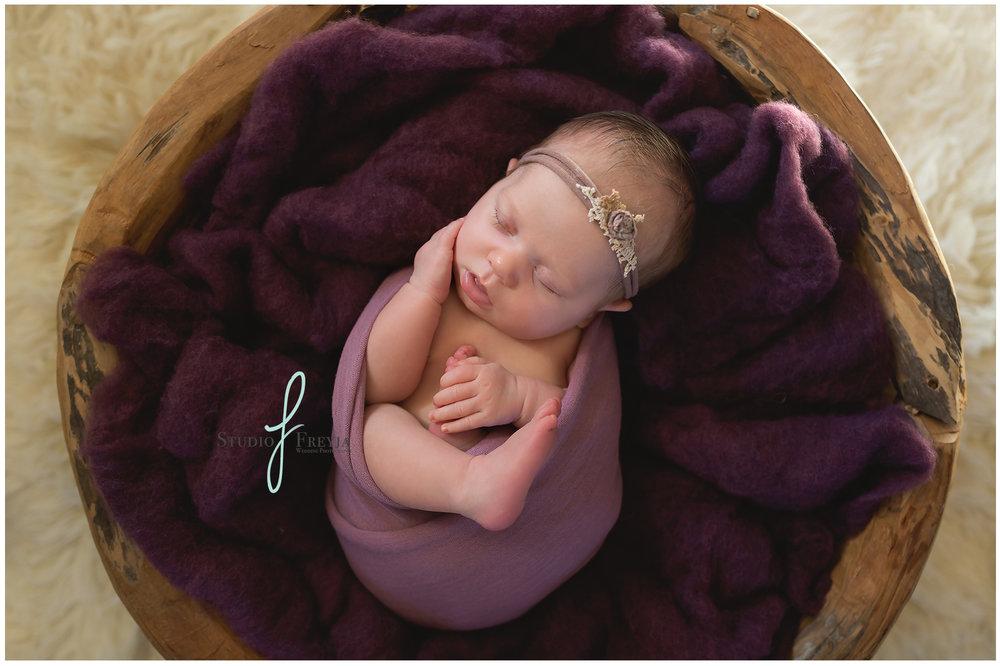 Ava's Newborn Session in San Diego CA