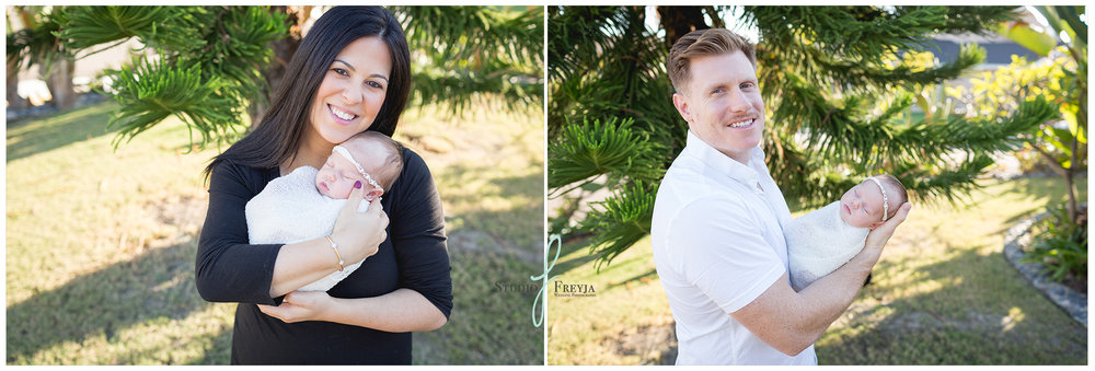 Mom and Dad Pictures during Newborn Session