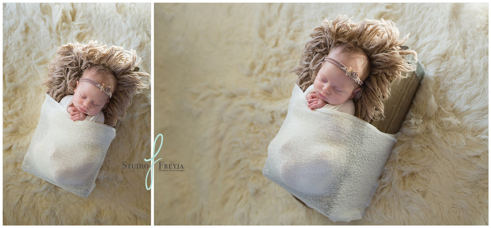 Image Collage of Baby Pictures by Infant Photographer San Diego