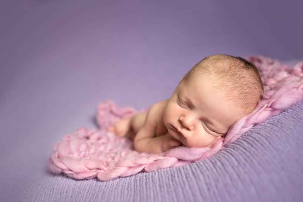 Newborn Baby Maci - San Diego Newborn Pictures