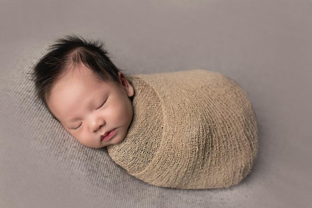 Baby Rome during Newborn Photography in San Diego, CA by Studio Freyja Newborns
