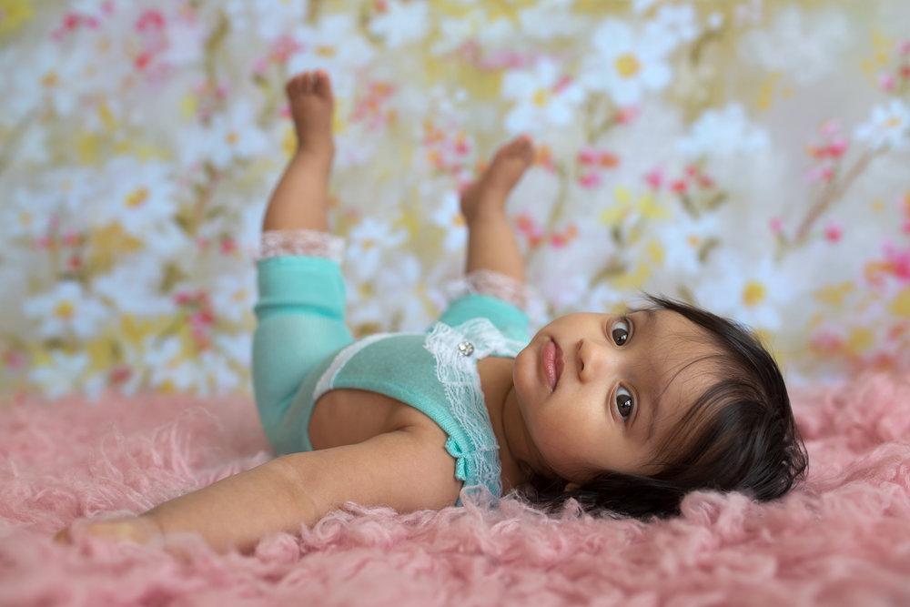 Studio Freyja Baby Milestone Photographer