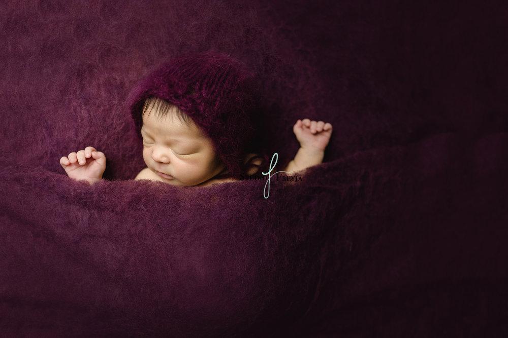 Zara Newborn San Diego Newborn Photographer