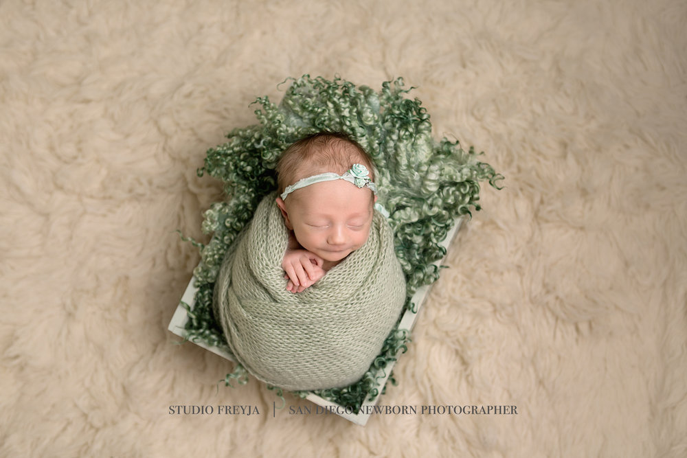 San Diego Newborn Portrait Photographer