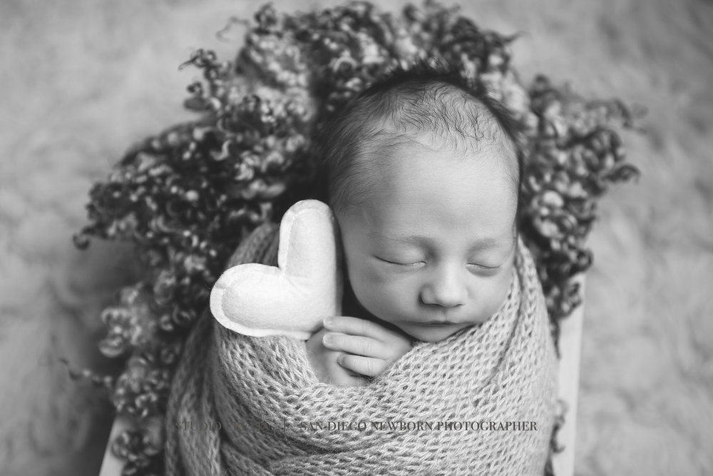 San Diego Newborn Portrait Photography Studip
