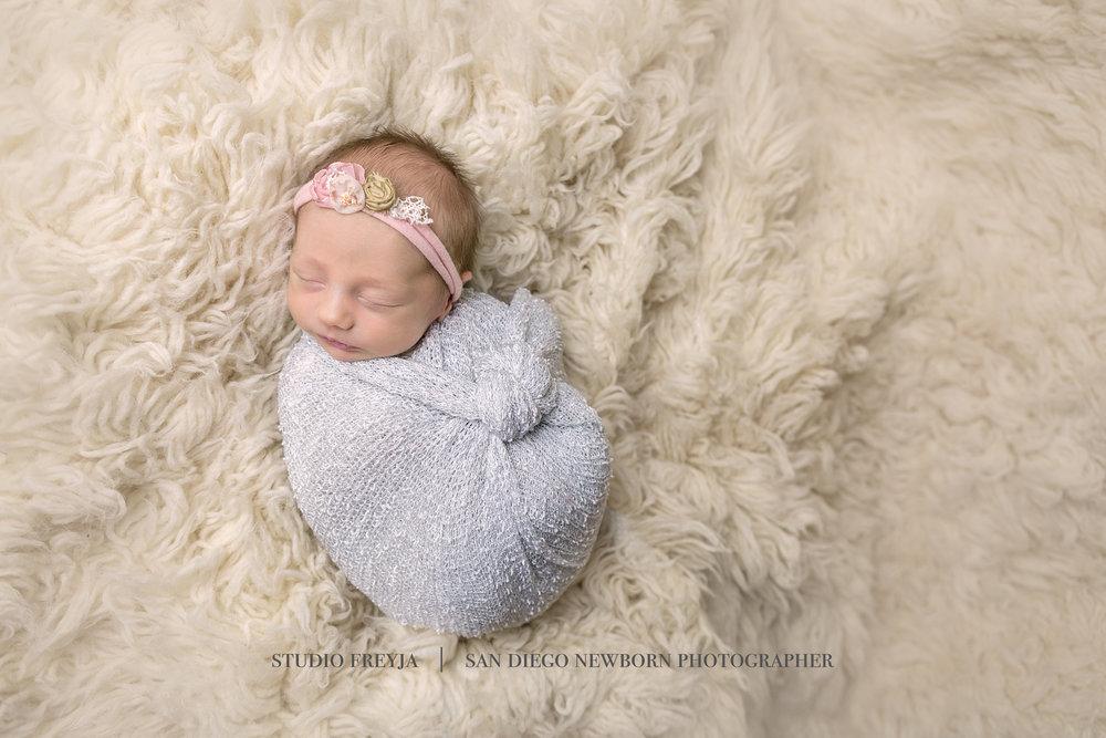 San Diego Newborn Portrait Pictures