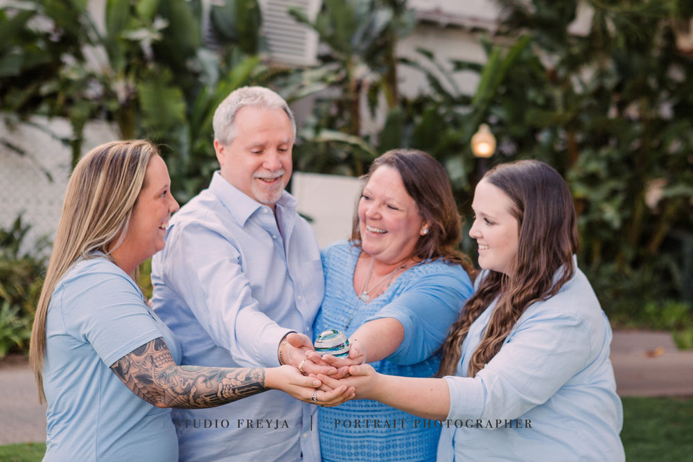 Hotel Del Coronado Family Photography