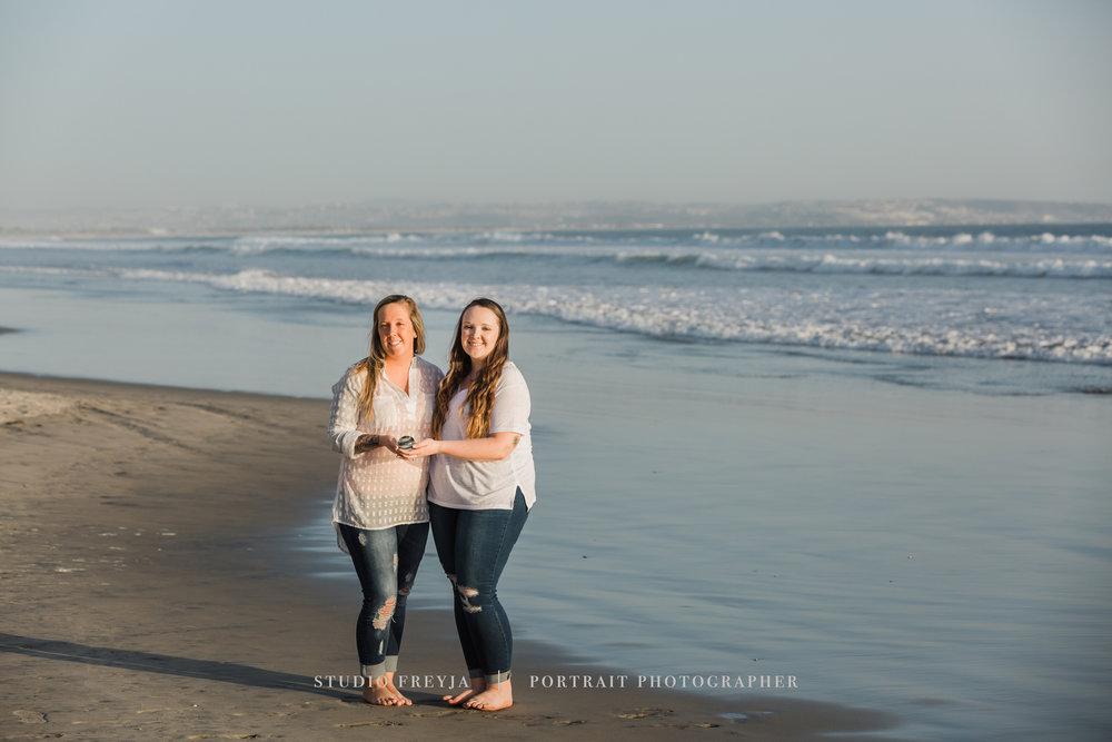 Hotel Del Coronado Beach Family Portraits