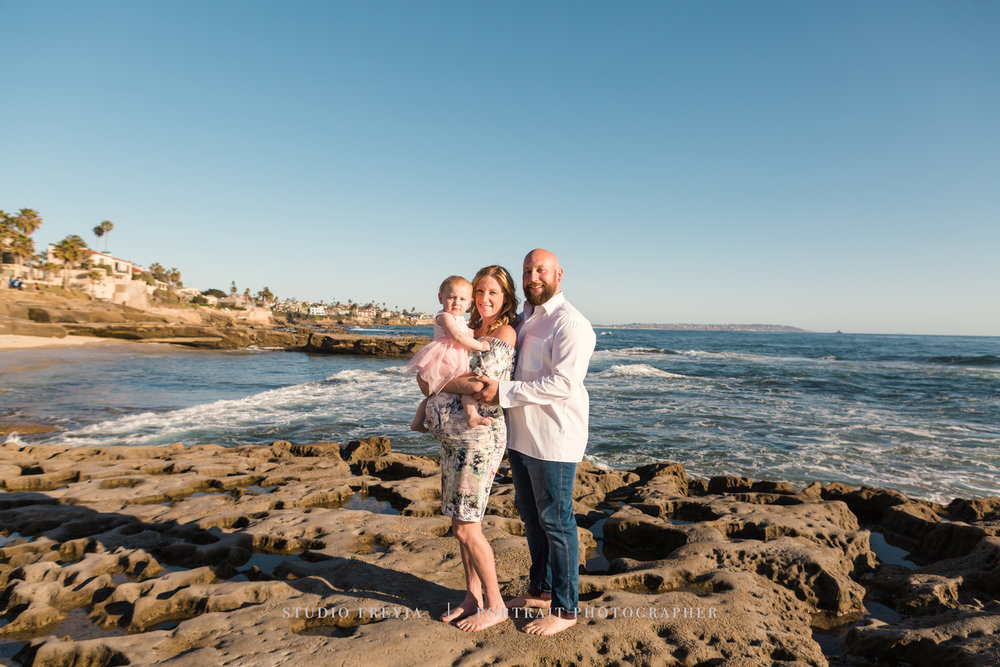 Bird Rock Beach Maternity Session