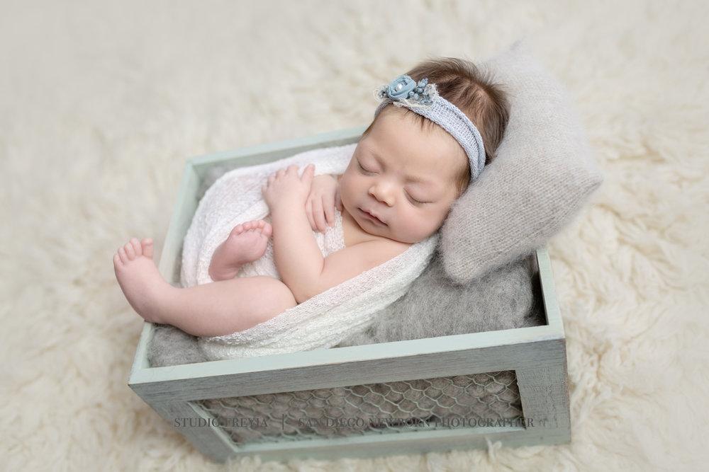 Raylee Newborn Session Copyright Studio Freyja  San Diego Newborn Photographer (2 of 7).jpg