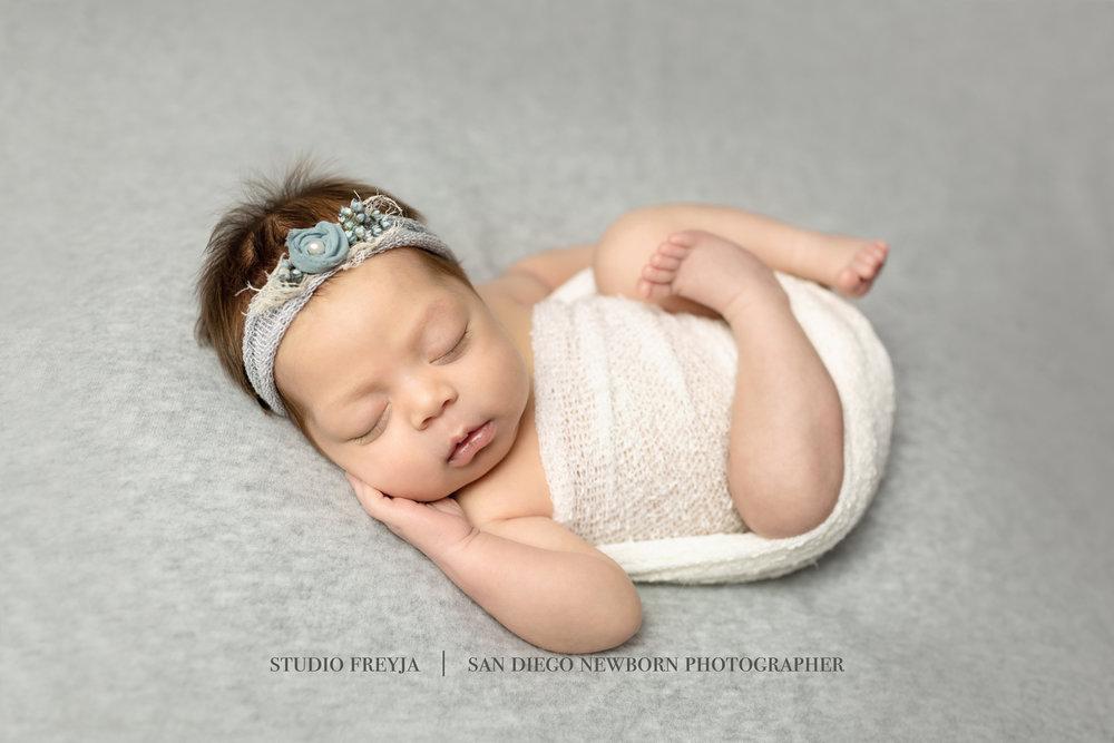 Raylee Newborn Session Copyright Studio Freyja  San Diego Newborn Photographer (4 of 7).jpg