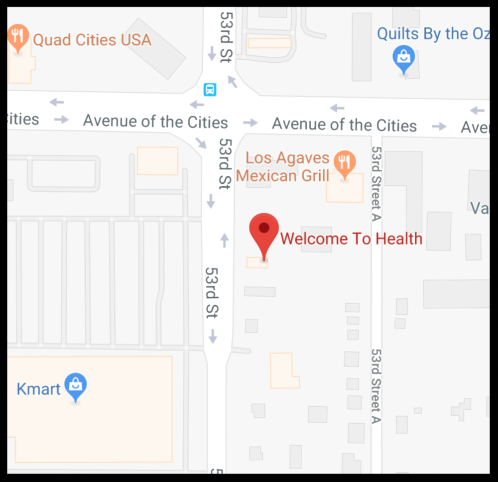 Directions to Welcome to Health on Google Maps