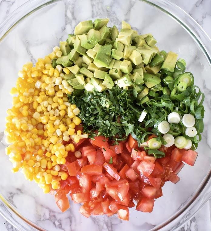 Mexican Avocado Salsa // CarolynWilliamsRD.com