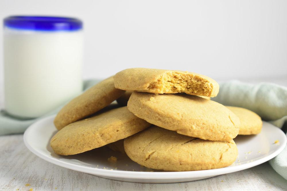 Pumpkin Sugar Cookies No Icing Carolyn Williams, PhD, RD