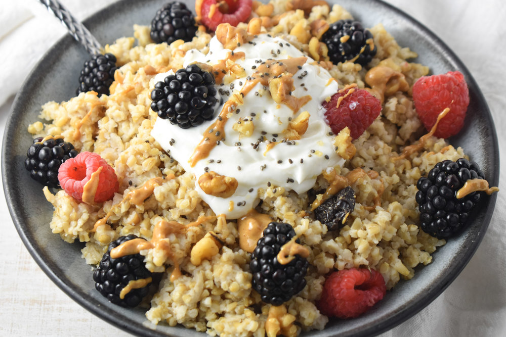 Steel Cut Oats Freezer Oatmeal