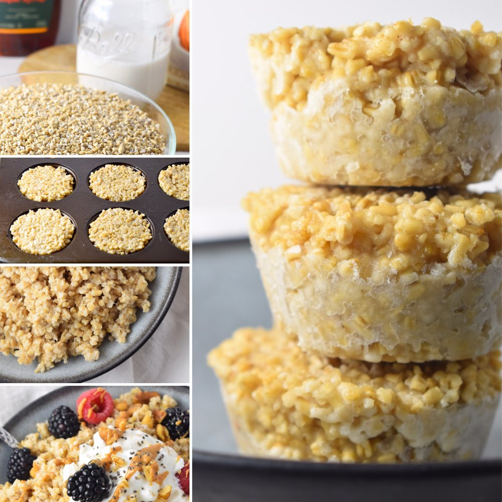Freezer Oatmeal Meal Prep