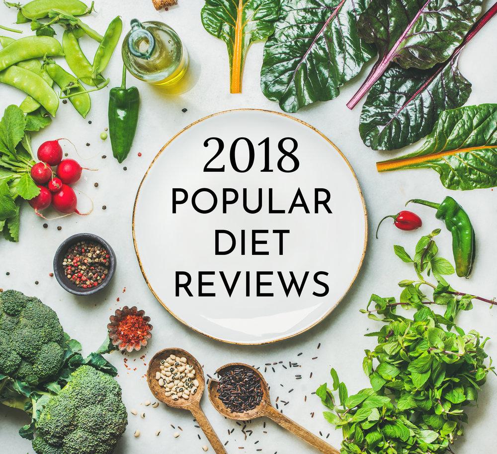 2018 Popular Diet Reviews Carolyn Williams, RD