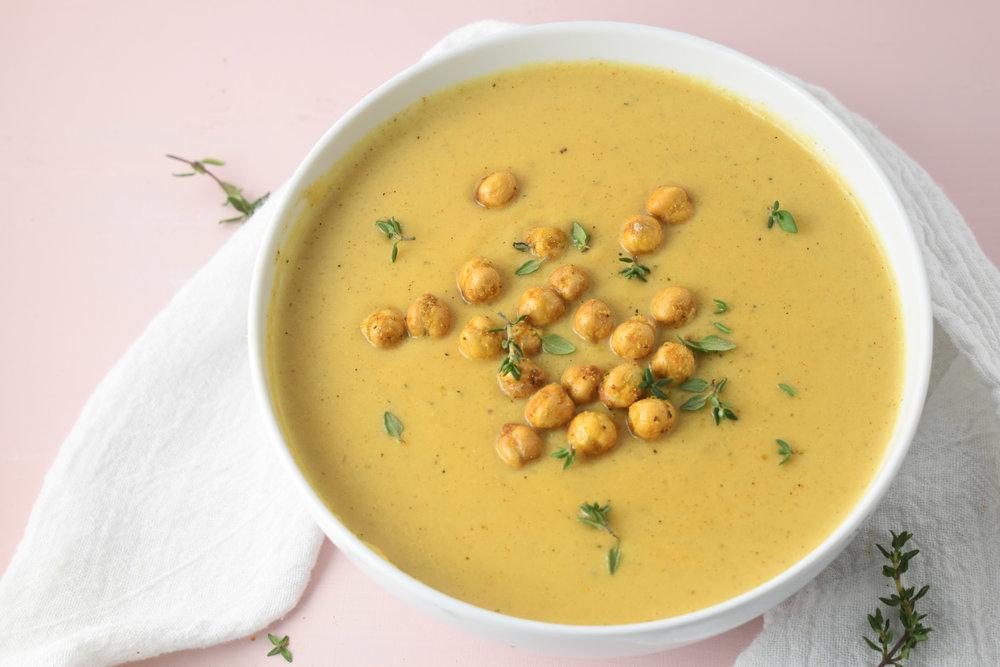 Creamy Gouda Soup // Carolynwilliamsrd.com