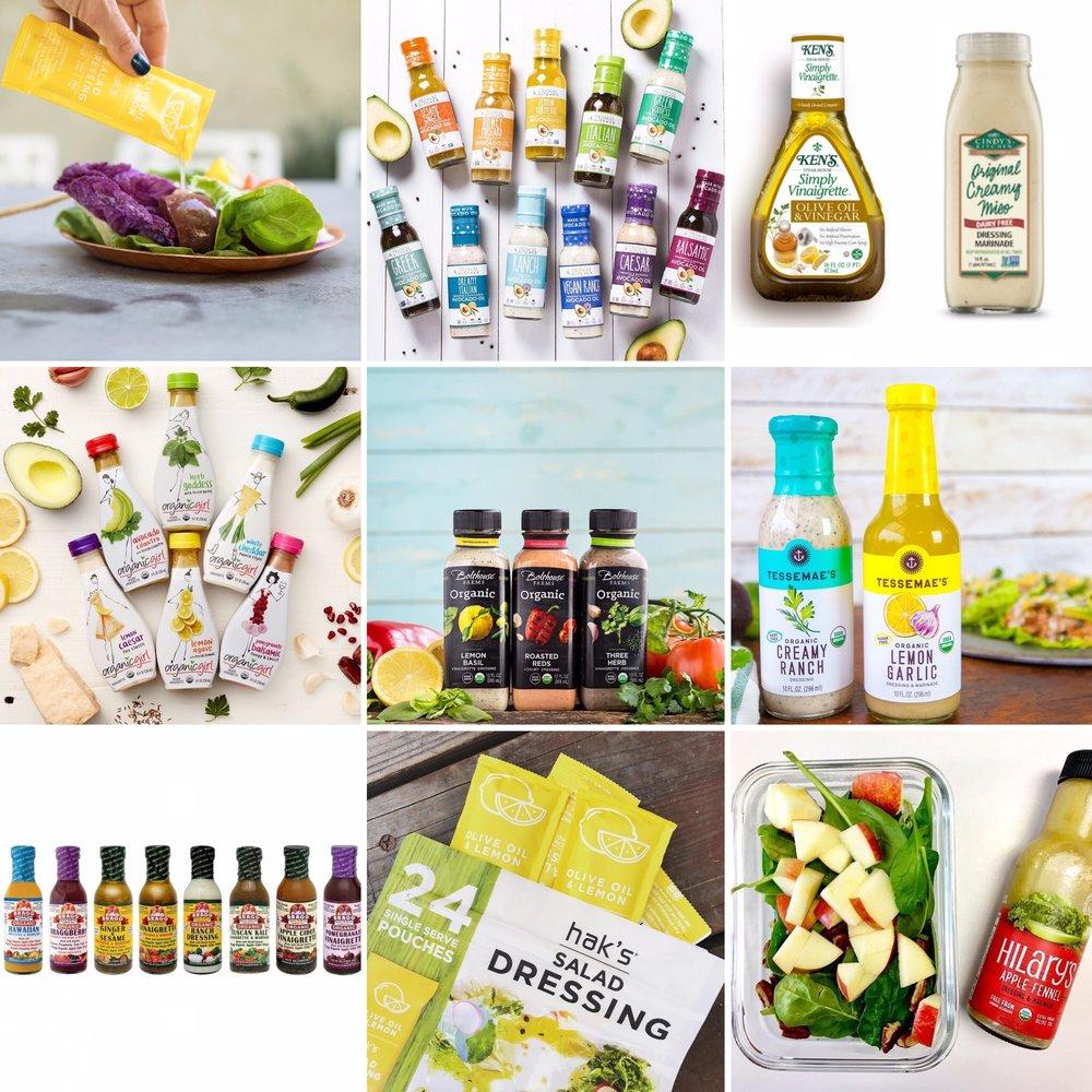 Best Grocery Store Salad Dressings // Carolyn Williams, PhD, RD
