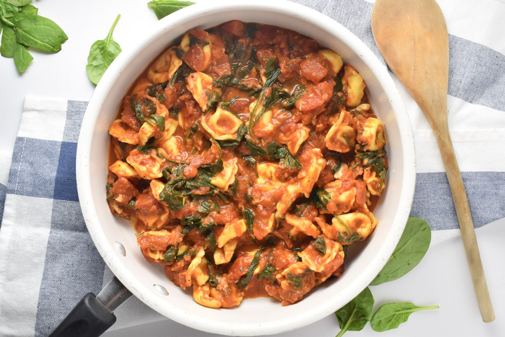 Quick Tortellini Skillet // Carolynwilliamsrd.com