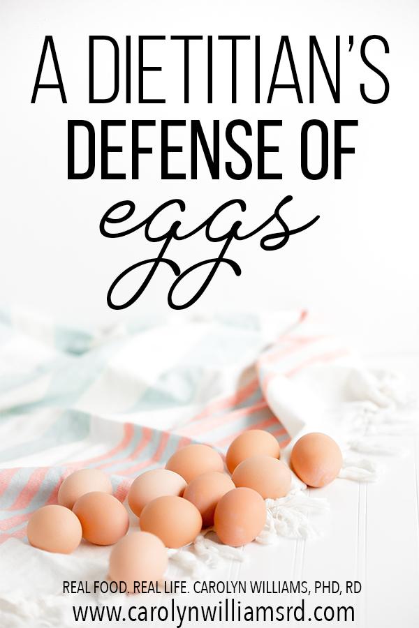 In Defense of Eggs // CarolynWilliamsRD.com