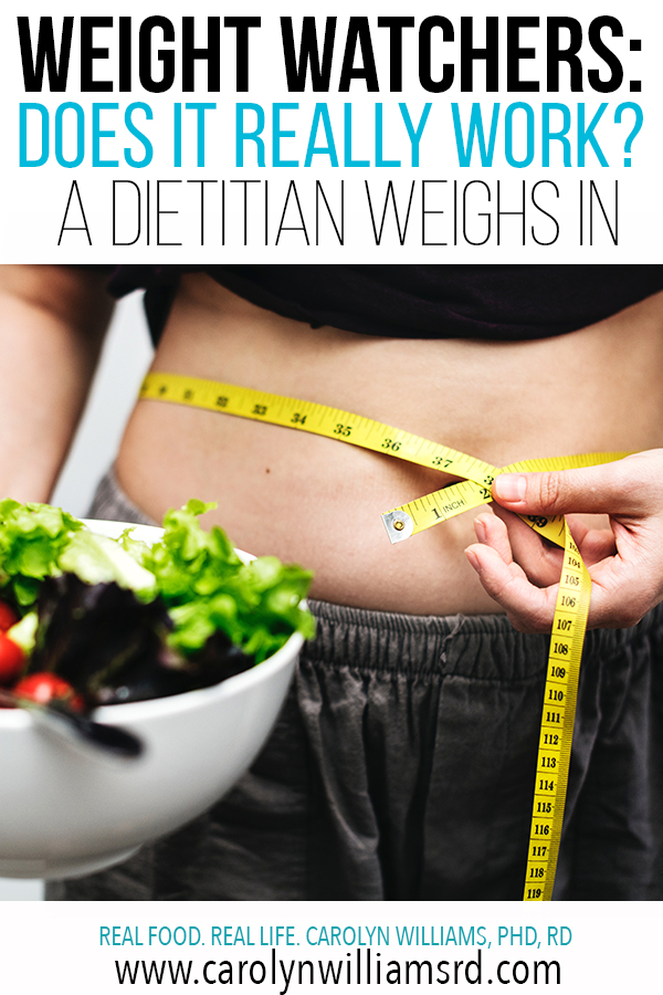Weight Watchers: Does It Really Work? / CarolynWilliamsRD.com