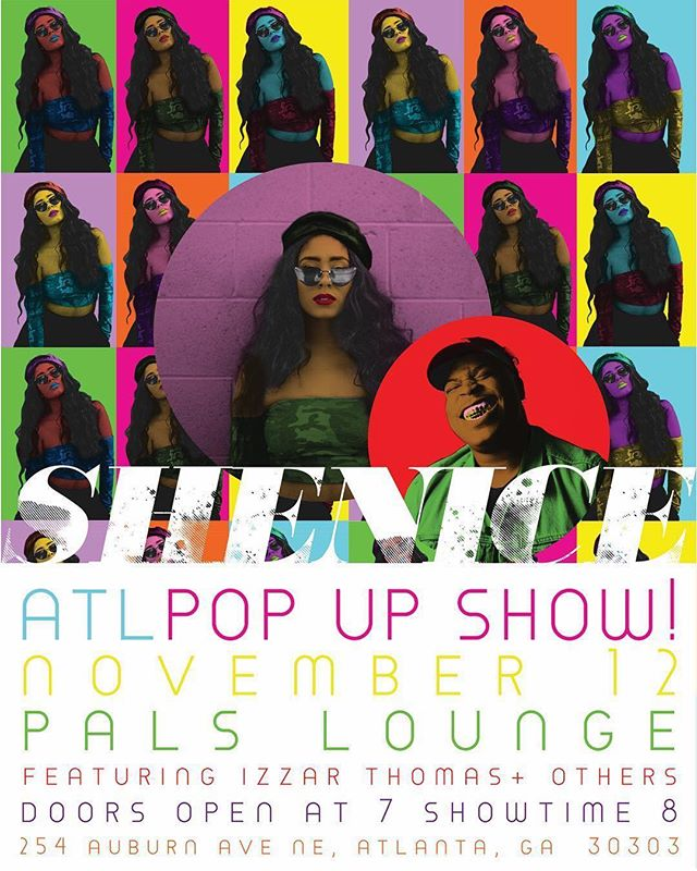 Next Month! ATL! Come catch some vibes with us @therealshenice & myself🦋!! November 12th @palsloungeatl