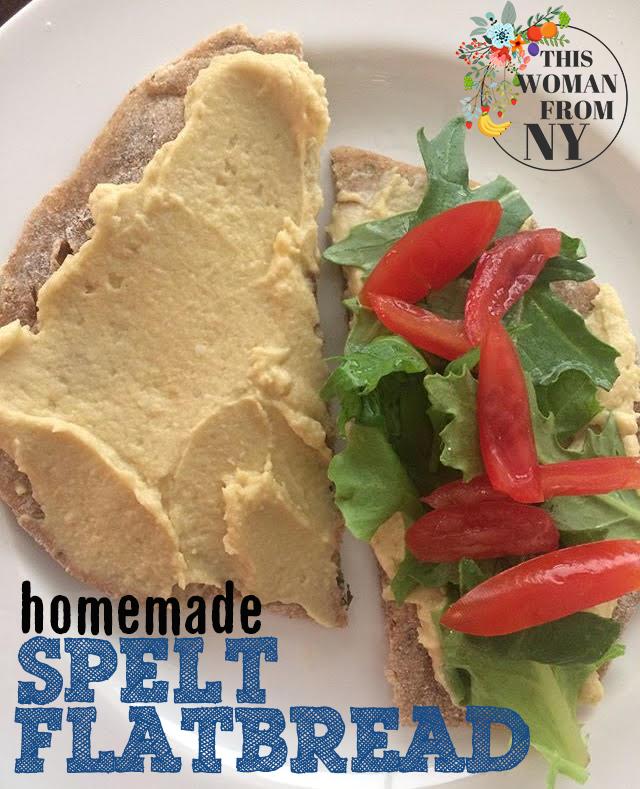 Homemade Spelt Flatbread | THISWOMANFROMNY