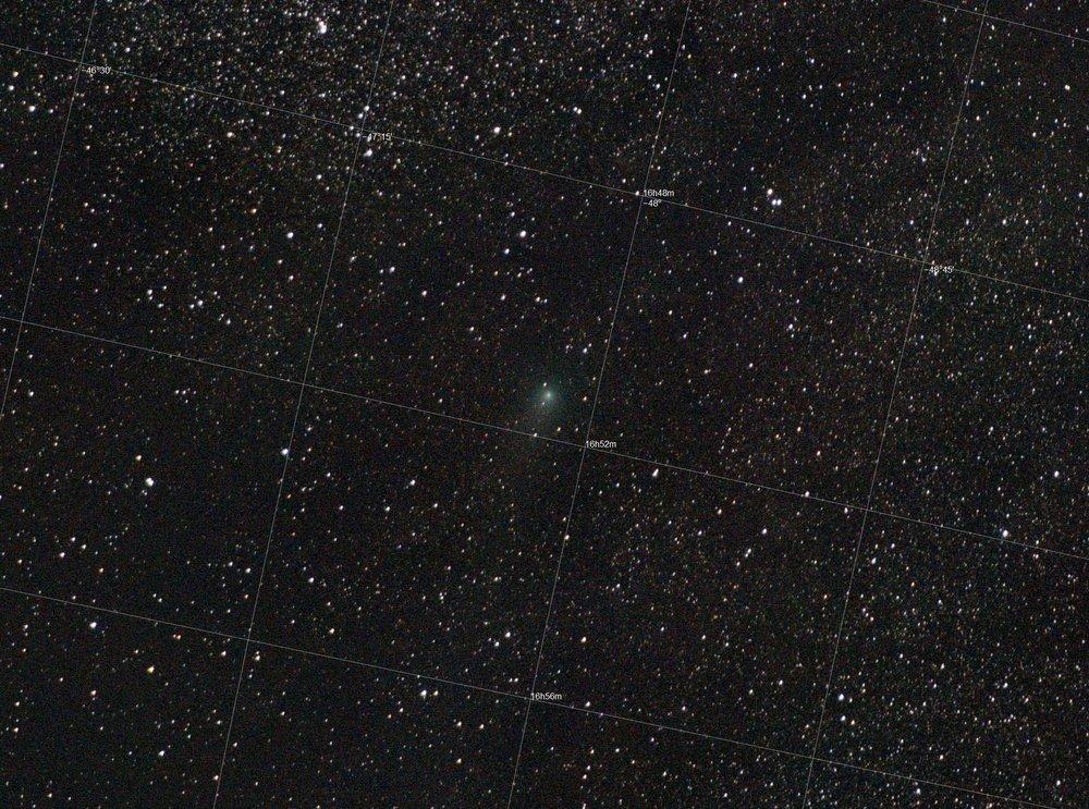 Comet C2013 X1 PANSTARRS