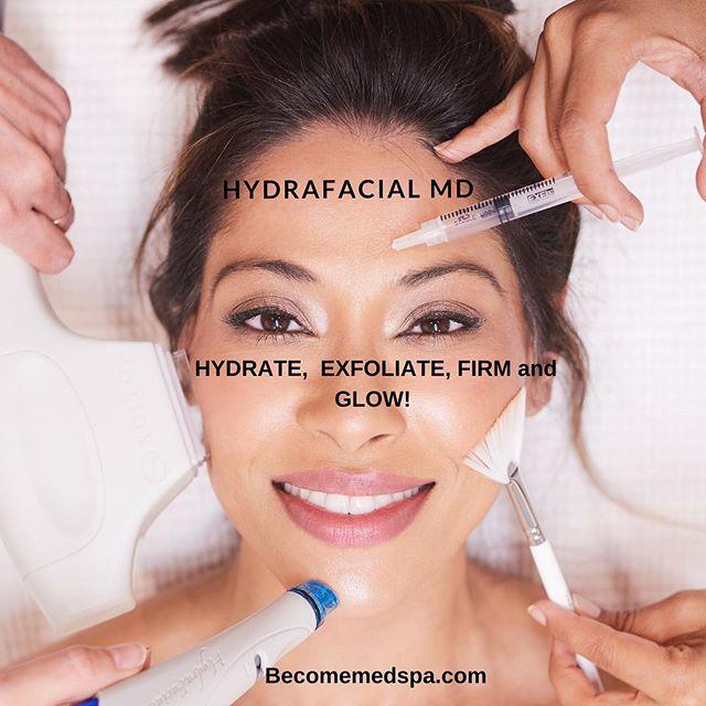 Book your Hydrafacial MD TODAY! . . . #skincareroutine #skincaretips #summer #normalskin #becomeclear #becomemedspa #hydrafacial #hydrafacialmd #iger #igdaily #ig_photooftheday #girlstuff #girlsdayout #momlife #momsdayout #mommymakeover #makeup #mua #bridal #dulhan #desibride #bridal