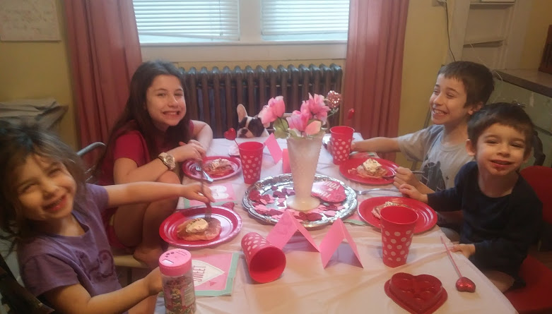 Valentine's Day Breakfast. -
