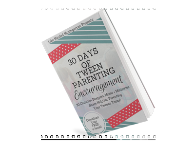Download your FREE e-book today featuring a FREE tween goal setting checklist from Memory Making Mommy! -