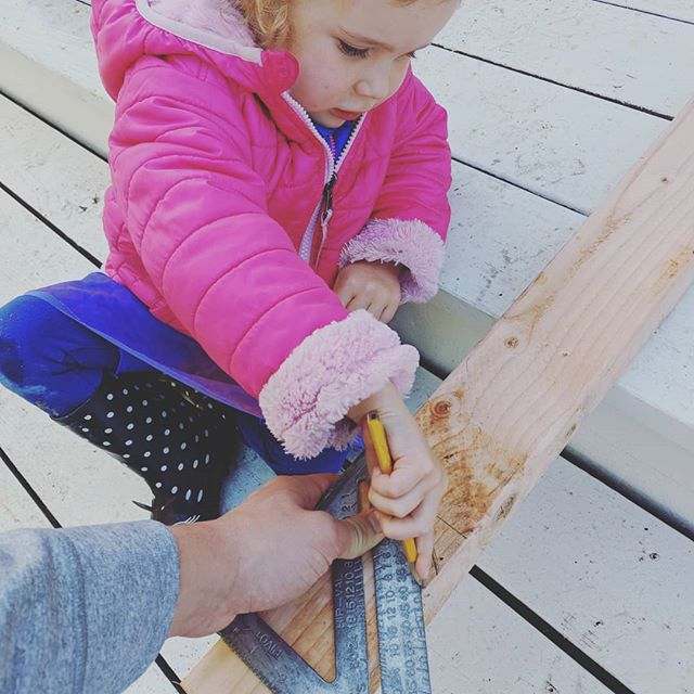 Training the apprentice, measure twice, cut once.