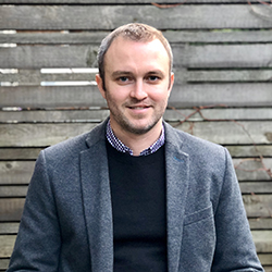 Duff Marrs   Architect AIBC, AAA, LEED AP BD+C Principal   Duff Marrs began his professional practice as a student intern at Burrowes Huggins Architects in 2008, and returned home to BHA as an Associate in 2015. In between, Duff graduated from the Master of Architecture program at Dalhousie University and worked on a variety of institutional and residential buildings while becoming a registered architect at Dialog (formerly Hotson Bakker Boniface Haden). Most notably, Duff spent four years working on the new UBC Student Union Building from the design phase through to construction completion and LEED Platinum certification.  At BHA, Duff brings a keen interest in design excellence and sustainability to the office, and strives to apply principles of place-based architecture and sustainable design to every project. Working closely with the rest of the team, Duff helps shape and develop design through the early stages and into working drawings. For Duff, design never stops.