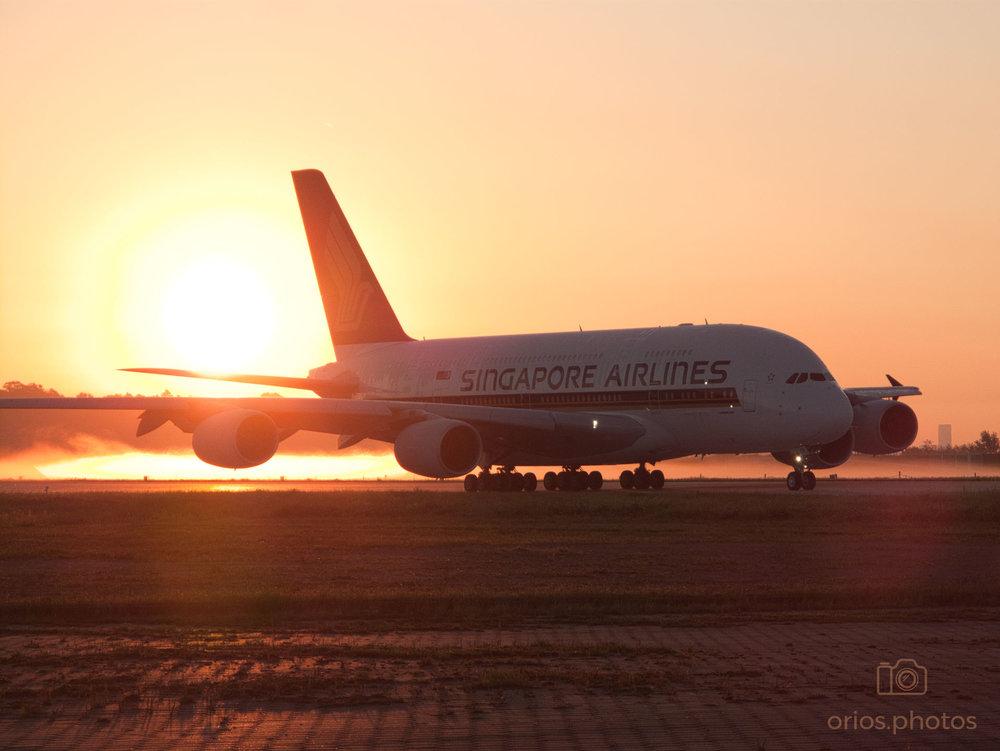 Sunrise A380