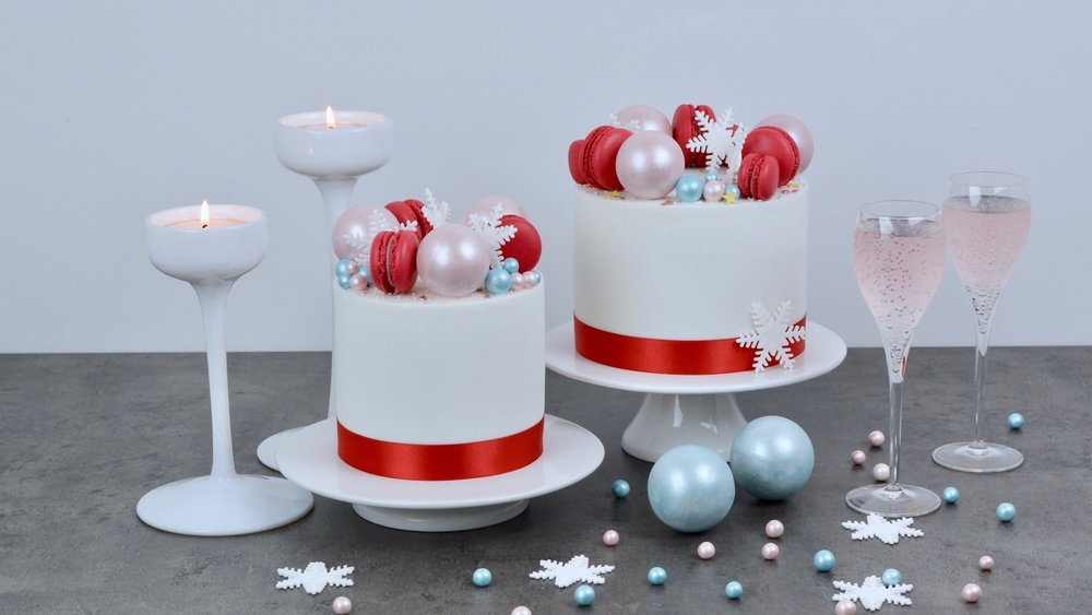 Christmas - Our range of of striking Christmas cakes with a Scandinavian twist