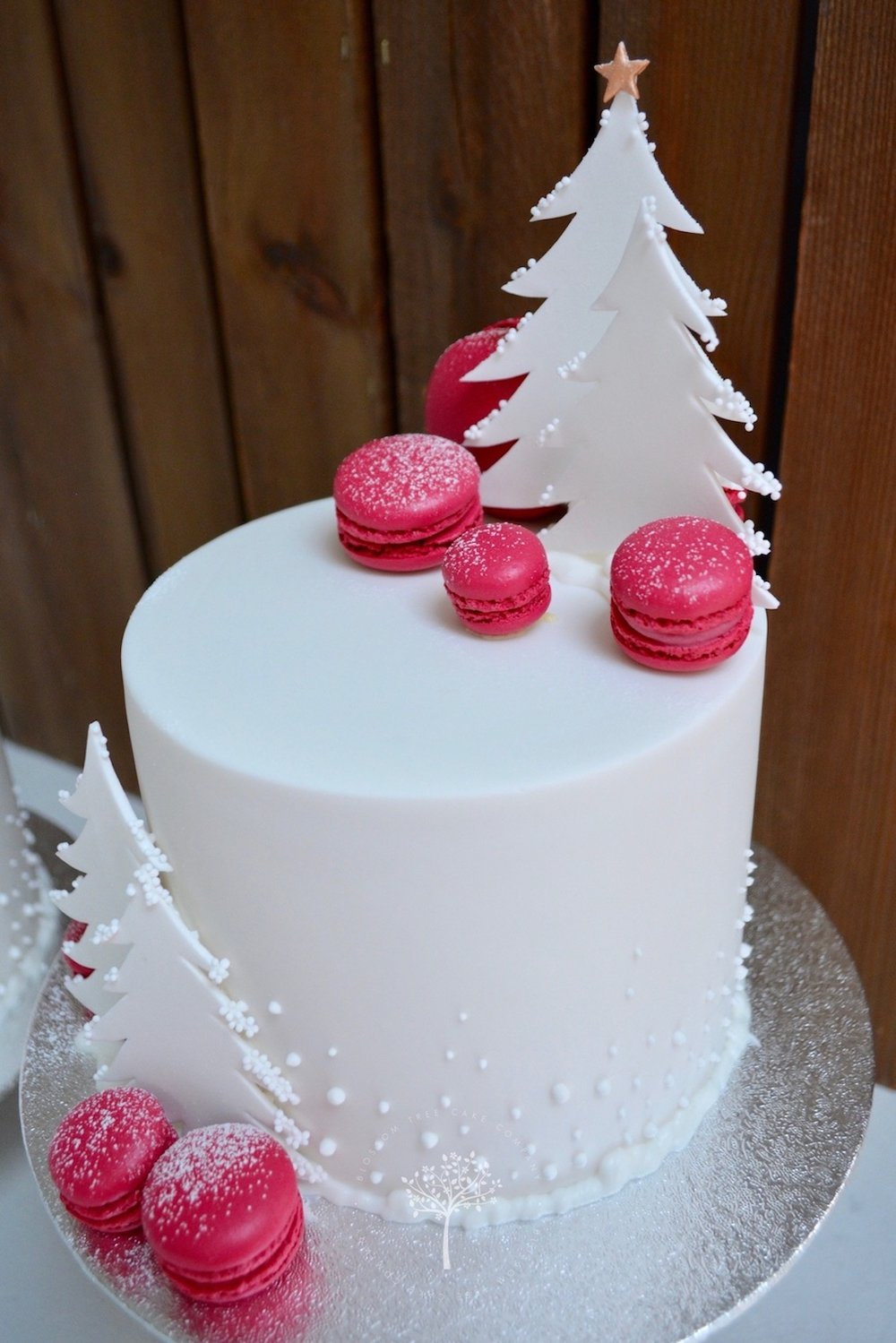 2016 Christmas Cake by Blossom Tree Cake Company Harrogate North Yorkshire.jpg