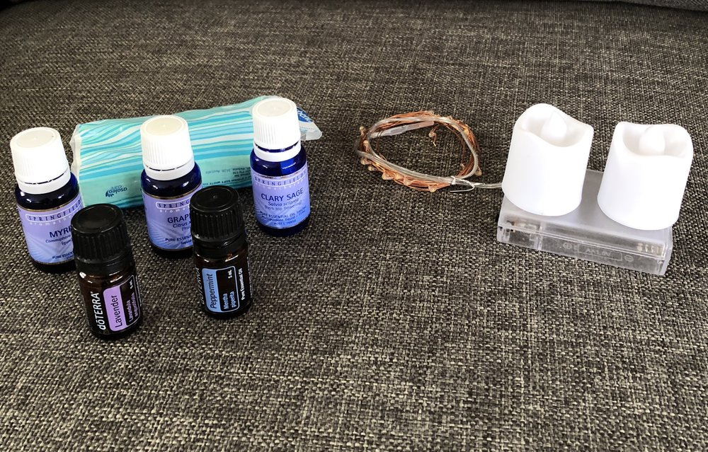 essential oils for labour doula bag sydney birth support