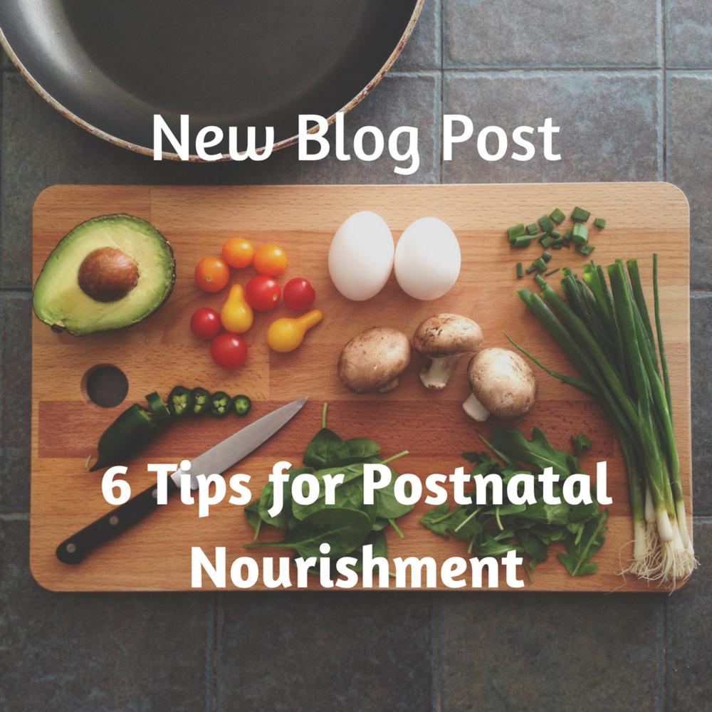 6 Tips for Postpartum Nourishment Samantha Gunn Sydney Doula