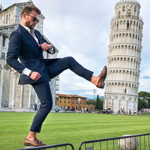 ™ Pushing hard. ------------------------------- #Devallor  #ModernGentleman #menwithstyle #mensfashion #menwithclass #stylishmen #gentleman #highfashion #gentstyle  #mensaccessories  #smart #casual #ootd #ootdmen #fashion #outfit #italy #italia #italian #rayban #suitopia #suitsupply #towerofpisa #suit #gq #thebillionairesclub  #luxury #mensfashion #streetstyle  #thisisamansstyle  Seen: @mr.anderssons